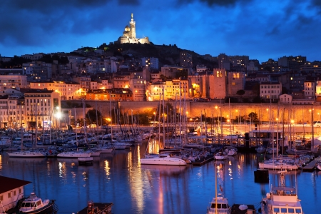 Les plus beaux lieux romantiques en amoureux à Marseille (Bouches-du-Rhône).