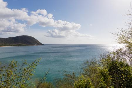 De belles balades romantiques en amoureux à Basse-Terre (Guadeloupe).
