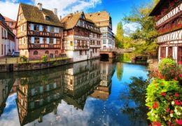 Strasbourg, une ville très romantique.