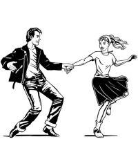 Diner dansant célibataires-tubes années 80